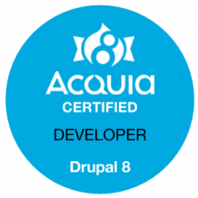 Acquia Certified Drupal 8 Developer